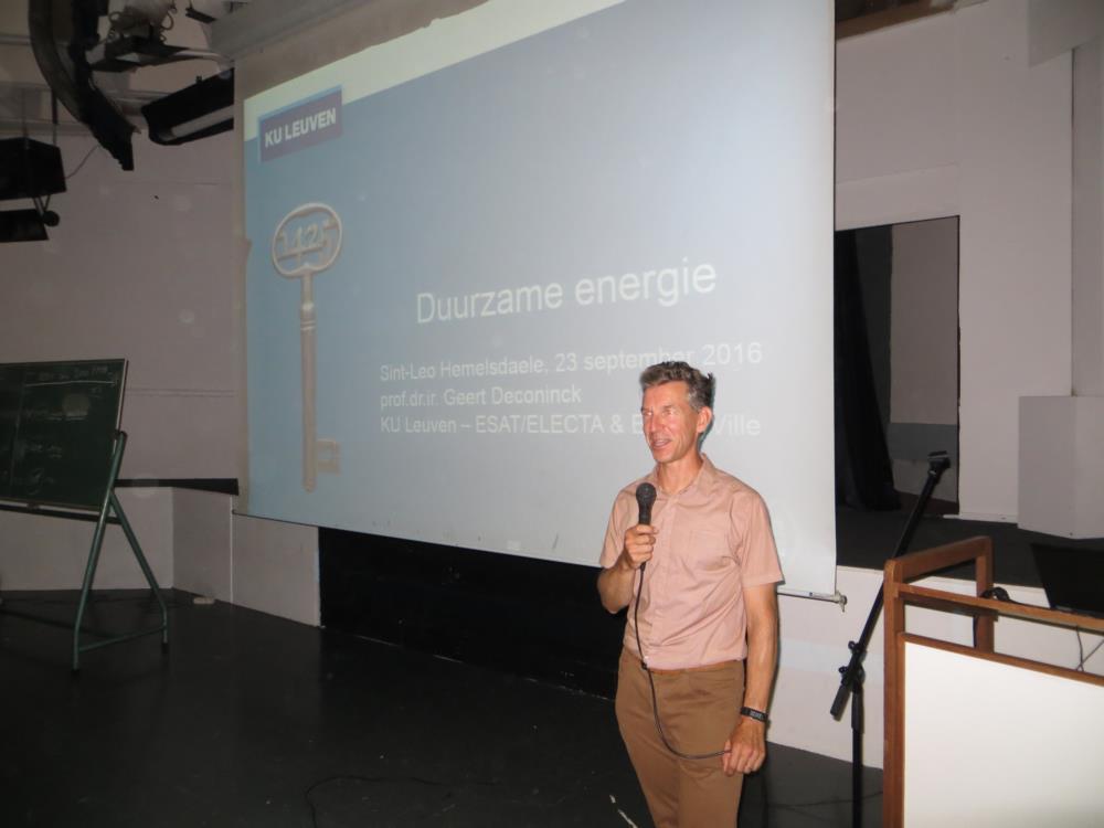 Pas-uur - Duurzame energie