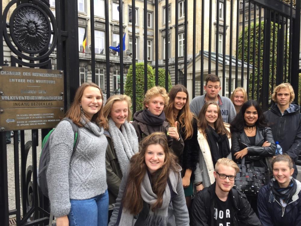 Bezoek federale parlement
