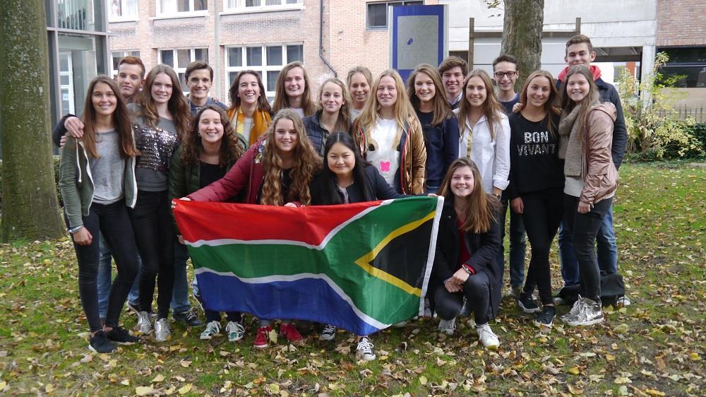 Uitwisselingsproject Zuid-Afrika 2017