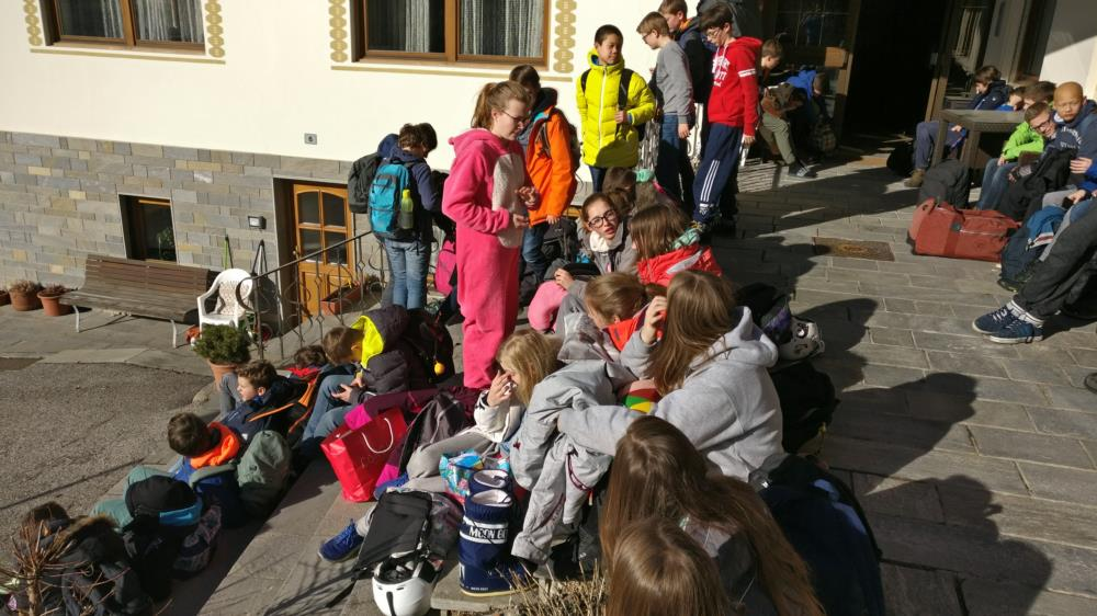 SLHDsecundair op skireis - Kronplatz