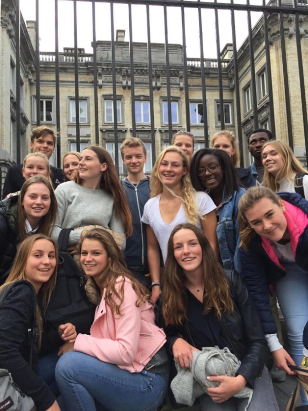 Bezoek federaal parlement Brussel (6HWE)