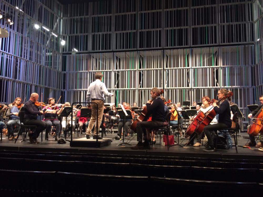 Open repetitie in het Concertgebouw