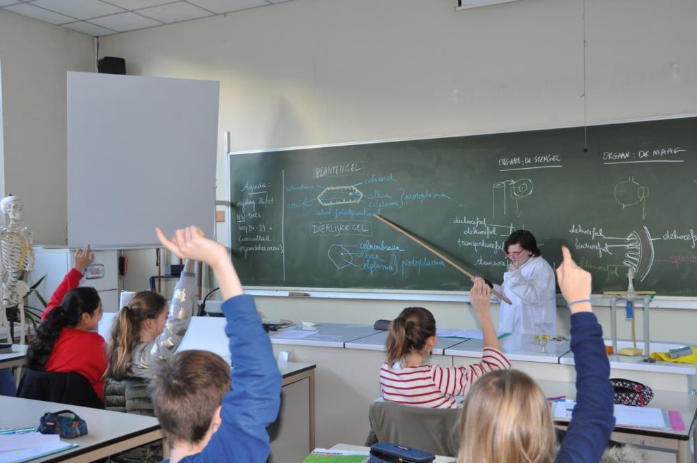 Wat als leerlingen het roer overnemen...