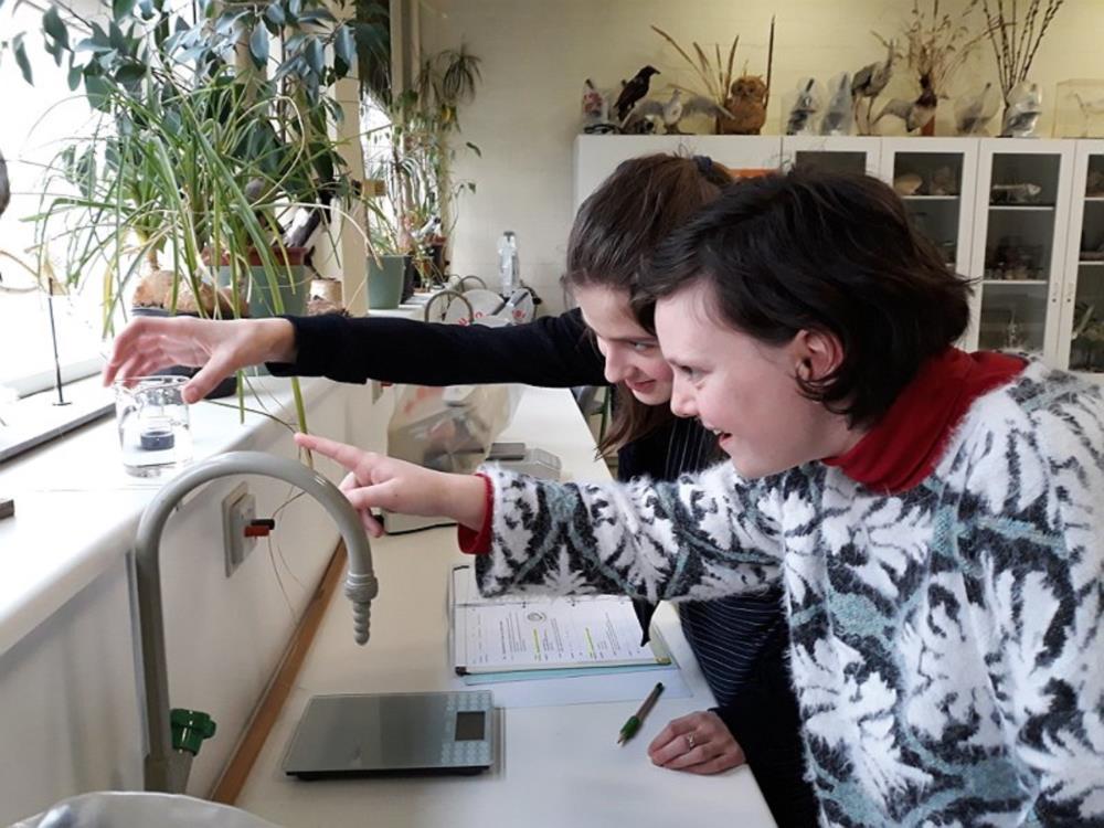 Onderzoekend leren in de les natuurwetenschappen