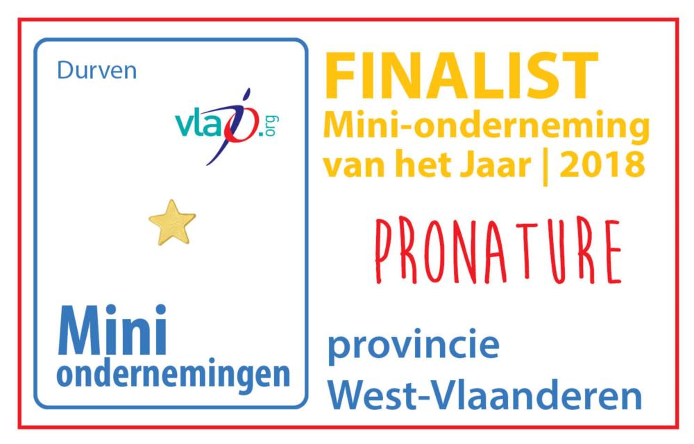 Mini-onderneming ProNature naar de Provinciale finale