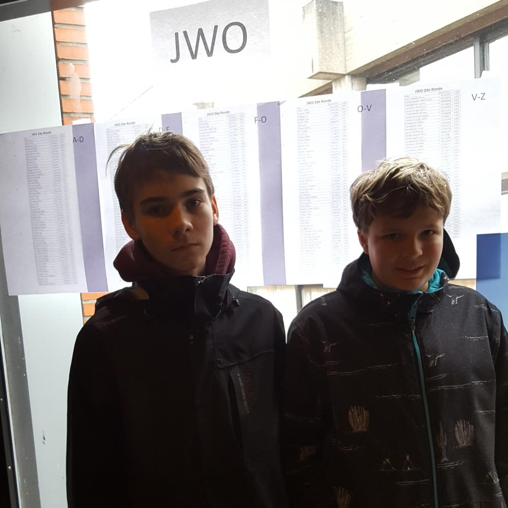 Tweede ronde Junior Wiskunde Olympiade