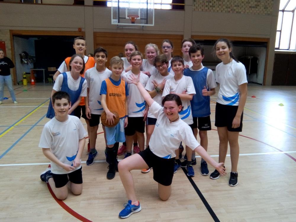 Klassencompetitie basketbal