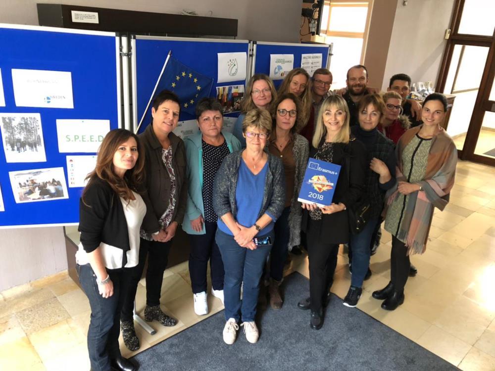Uitwisseling Erasmus + S.P.E.E.D.