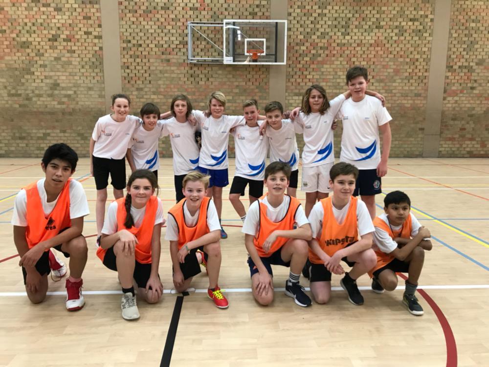 Winnaars klassencompetitie voetbal 1stes