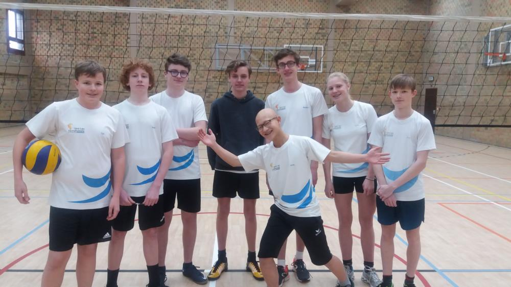 Klassencompetitie volleybal 4des