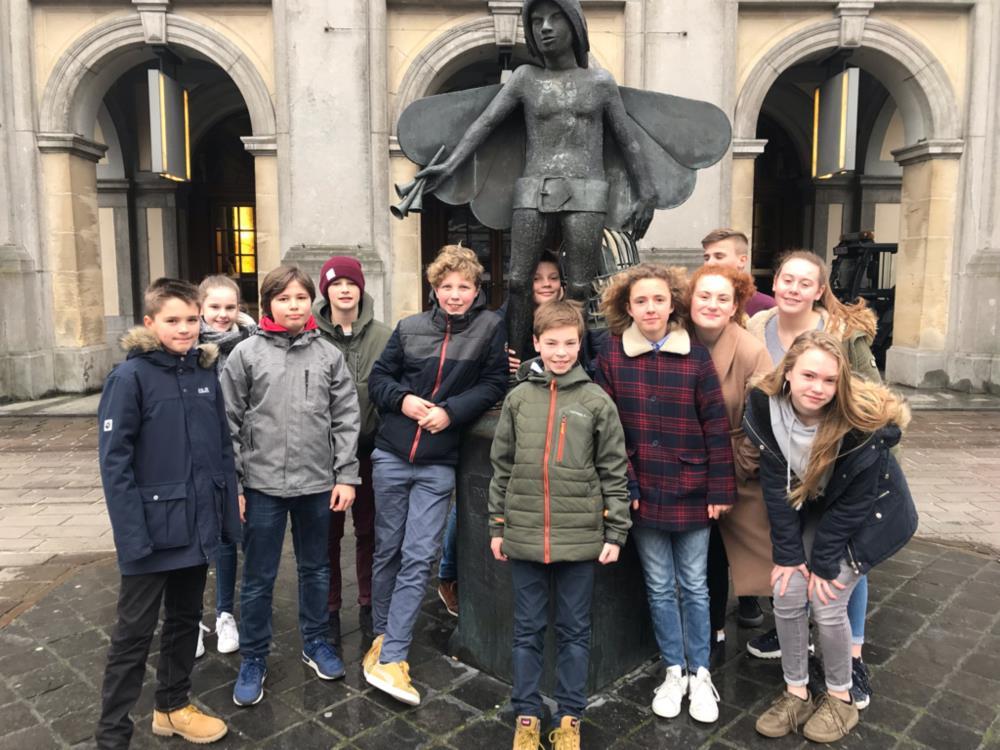 Bezoek stadsschouwburg