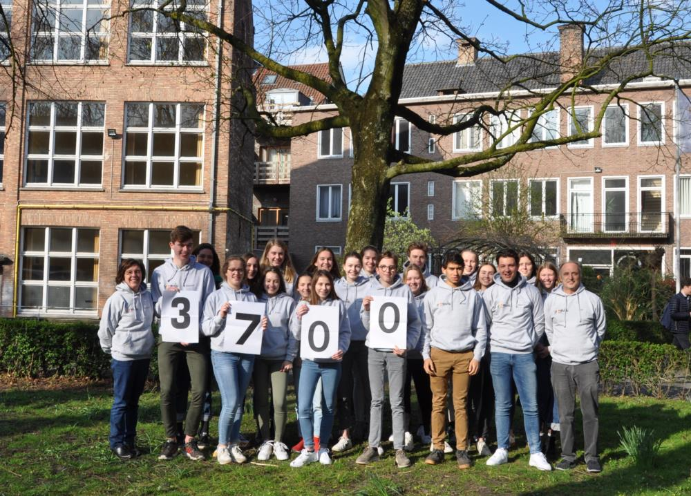 3700 euro voor sociale projecten