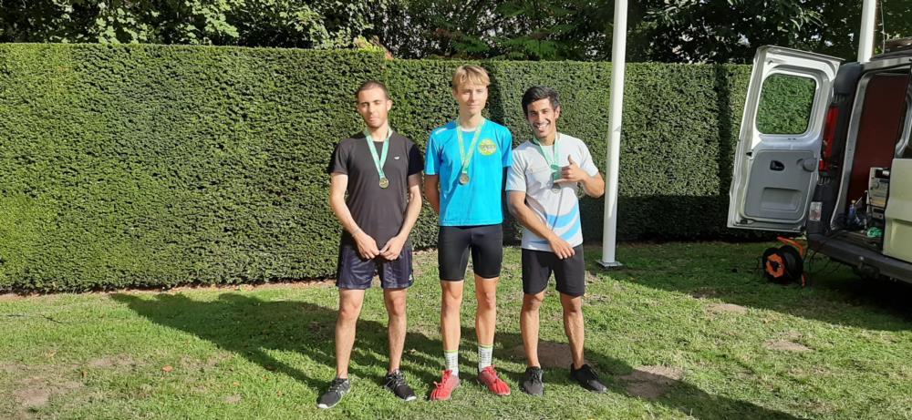 Medailles op eerste loopcross