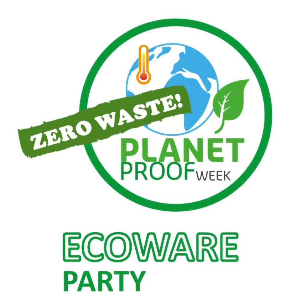 Planet Proof Ecoware party