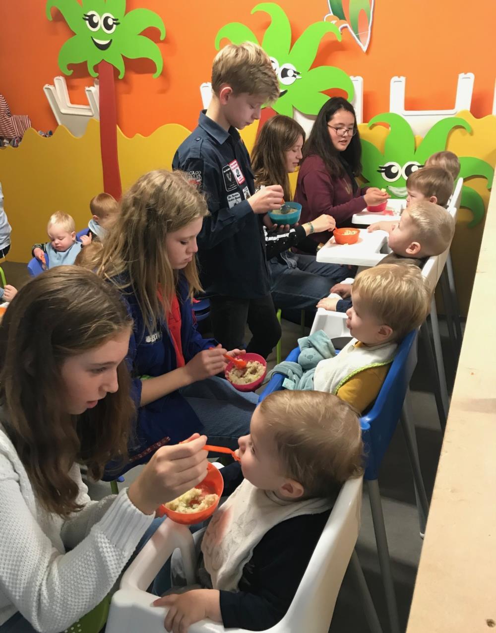 3HWE op bezoek in kinderdagverblijf