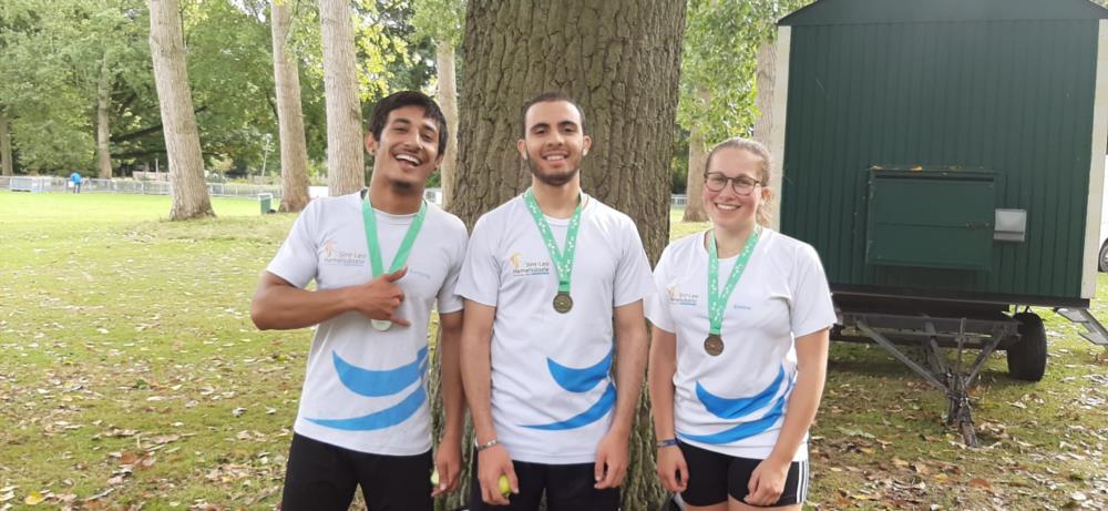 Medaille op Vlaamse veldloopcross