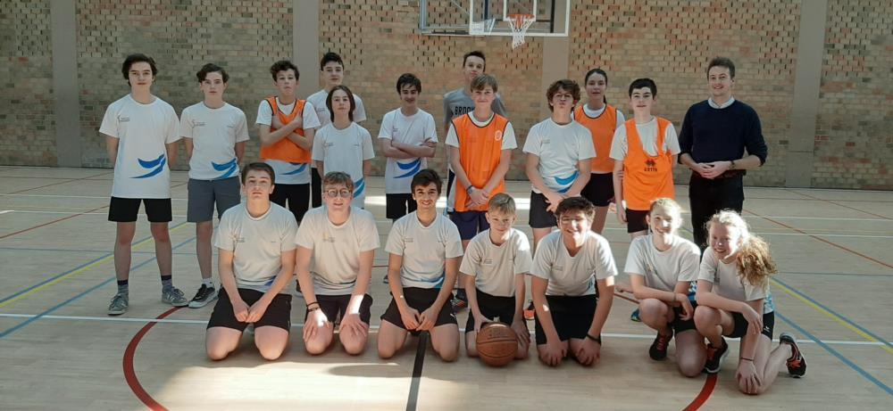 Basketbal klassencompetitie 3de jaar