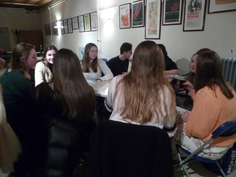 Oud-leerlingen - Praatcafé
