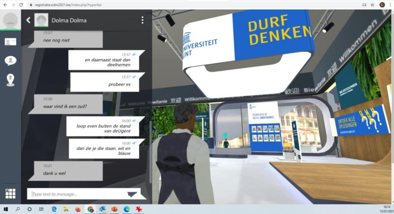 Virtuele SID-IN beurs