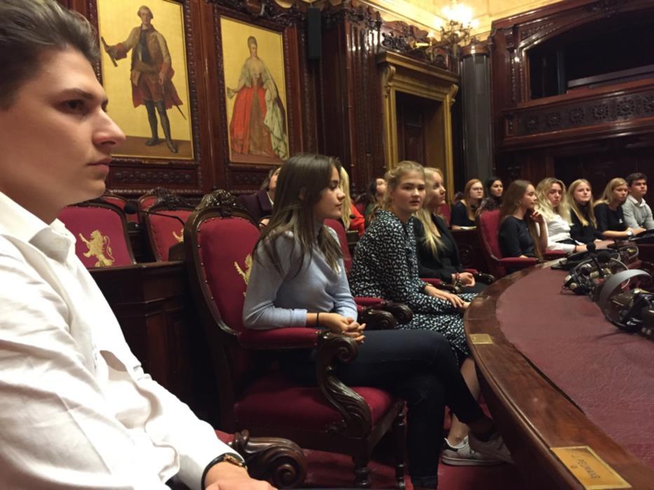 Bezoek Federaal Parlement