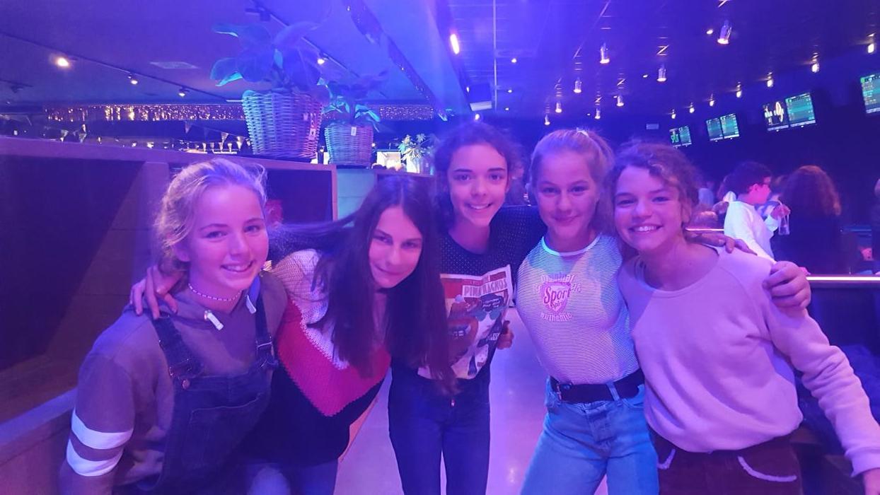 Bowling met peters en meters