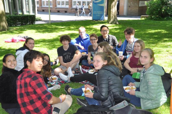 Grootse picknick