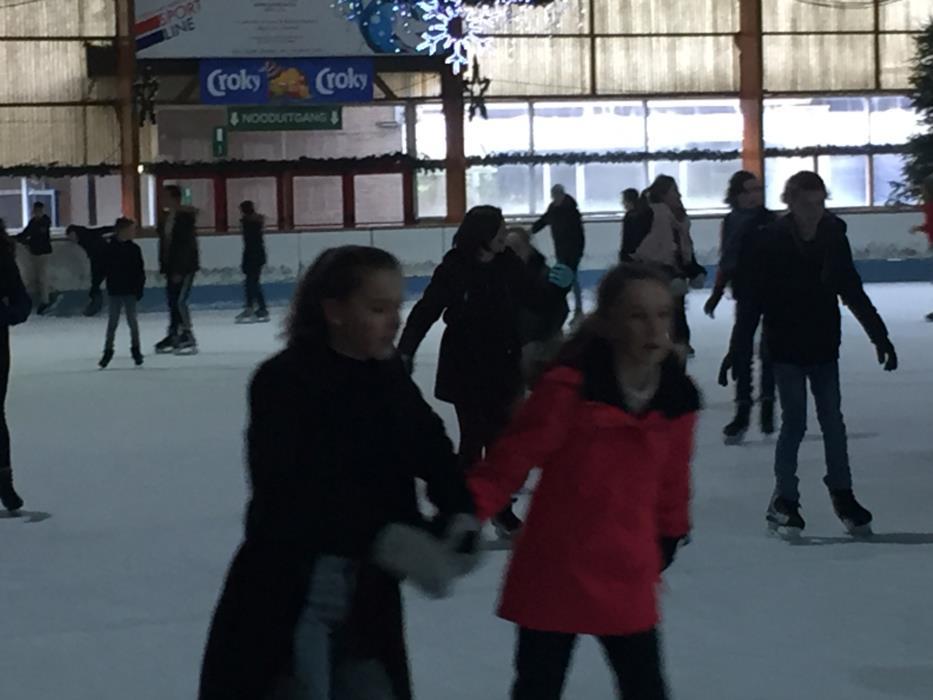 Schaatsen met de eerstegraadschool!