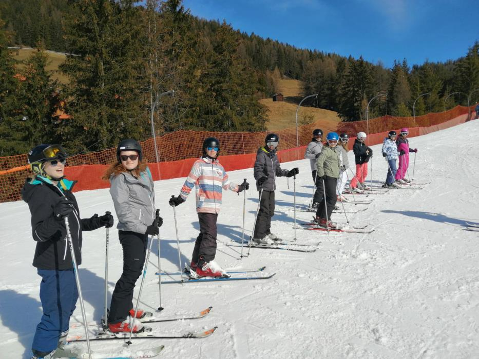 Wintersportvakantie eerste graad