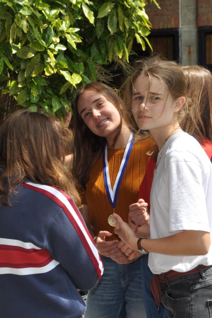 Slotgebeuren Sportiefste leerlingen 1ste graad
