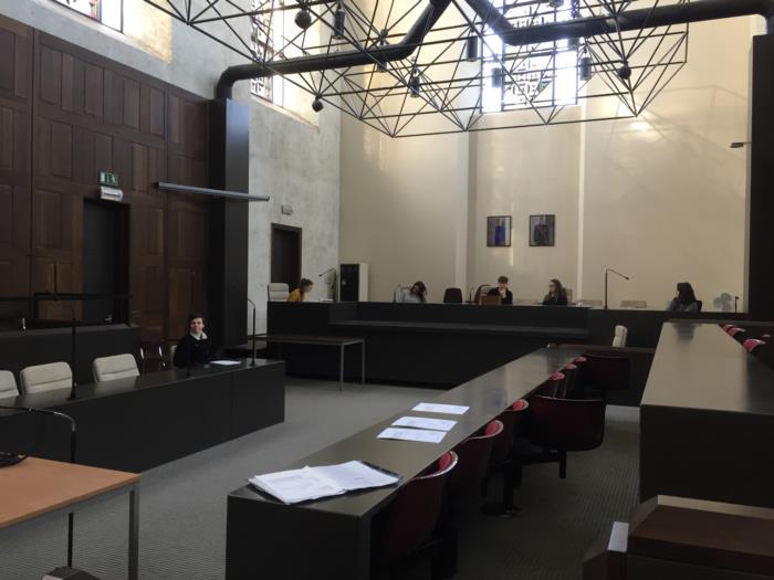 Bezoek gerechtsgebouw