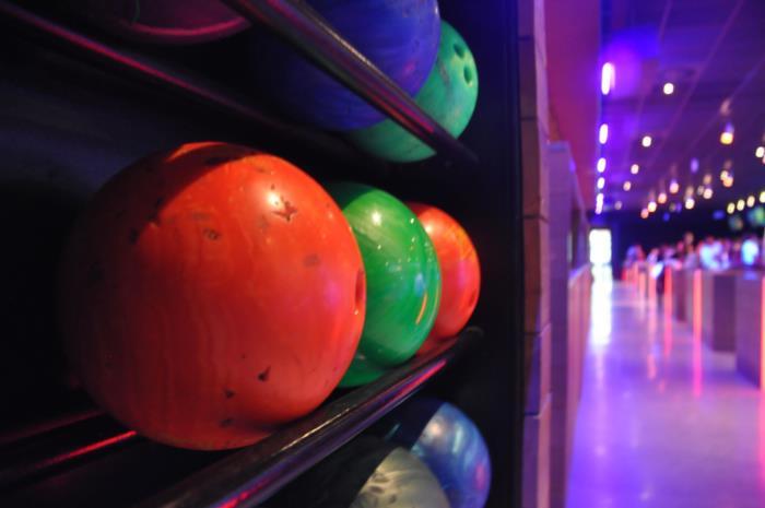 Bowling eerstes met peters en meters