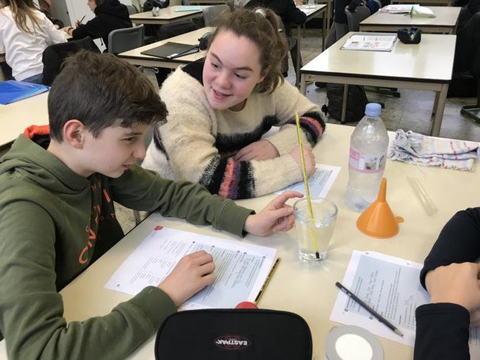 Experimenteren en onderzoeken in de les