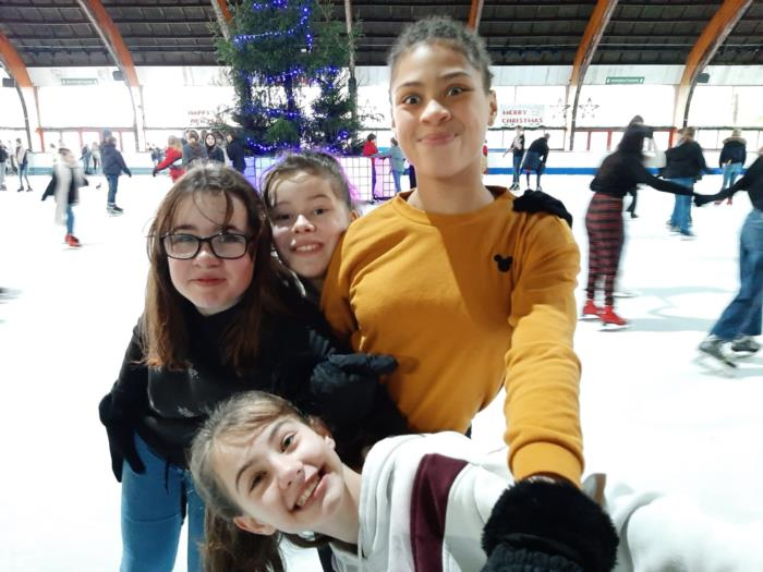 Eerste graadsactiviteit schaatsen