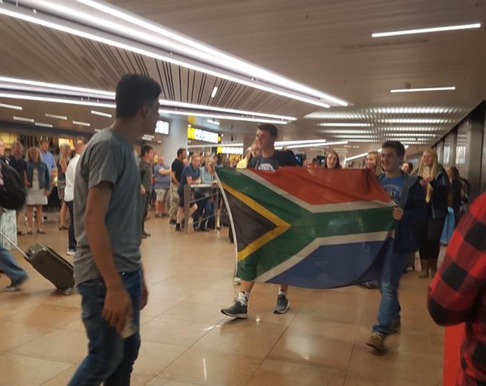 22ste uitwisselingseditie met Hoërskool Waterkloof, Zuid-Afrika