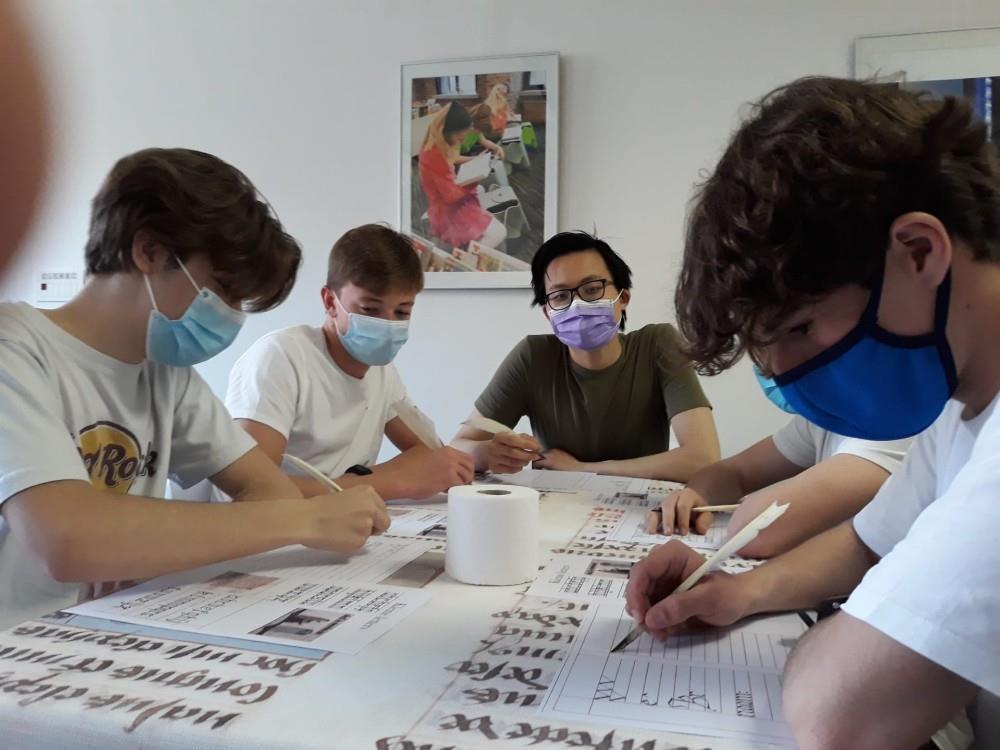 Workshop handschriften