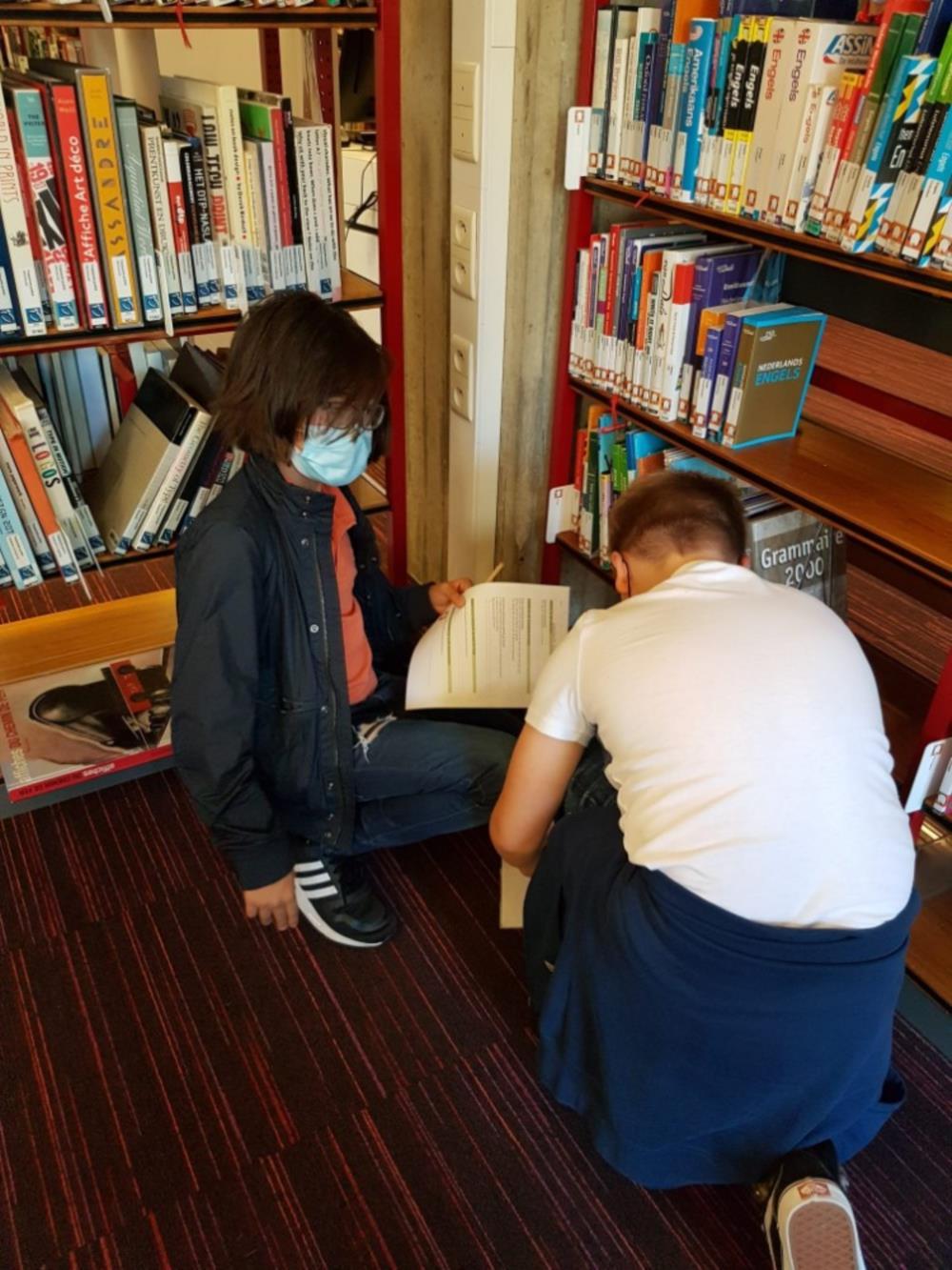 Bibliotheekbezoek